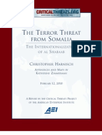 CTP Terror Threat From Somalia Shabaab Inter Nationalization