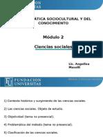 Problematic A Sociocultural y Del Conocimiento - Presentacion N 2