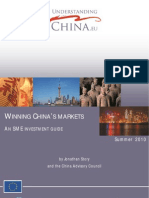 EU China SME Guide, Winning China's Markets an SME Investment Guide