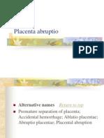 08 Placenta Abruptio