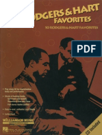 Jazz Play Along Vol. 11 - Rodgers & Hart Favorites