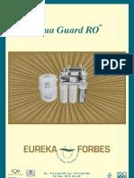 Eureka Forbes Manual