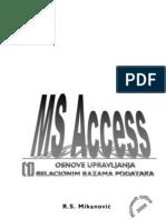 Access - Osnove Upravljanja Relacionim Bazama
