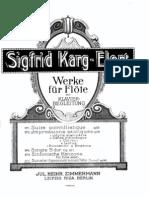 Siegfried Karg-Elert Sonata Op