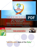 Case Presentation on Appendicitis