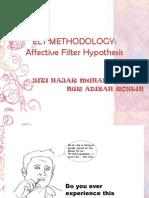 Krashen-Affective Filter Hypothesis
