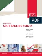 HVS - 2011 India State Ranking Survey