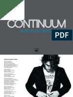Digital Booklet - Continuum