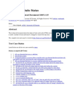 HTML Test Cases