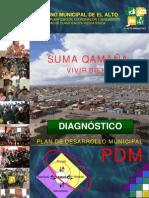PDM el alto 2007-2011