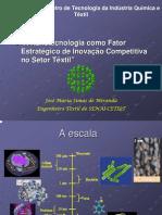 Palestra NonoTecnologia Têxtil
