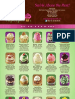 Fall Winter Menu Gigi's Cupcakes Indianapolis & Fishers