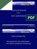 Leiter Hebel