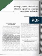 Estrategia Tatica e Tecnica Nas Modal Ida Des Esportivas Coletivas Conceitos e Aplicacoes