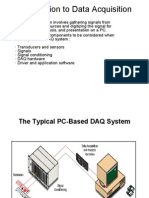 Introduction to Data Acquisition