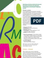 Cartaz de propostas de formação gratuitas da CMS no âmbito da abertura do ano lectivo de 2011-12