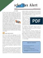 Ky. Tax Alert (Sept. 2011)