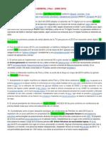 Preguntas de Cultura General Peru 2010