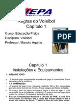REGRAS VOLEIBOL CAPITULO 1