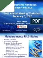 R4 Measurements Update