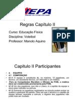 REGRAS VOLEIBOL CAPITULO 2