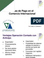 2.- Formas de Pago en El Comercio Internacional