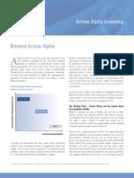 Alpha Investing