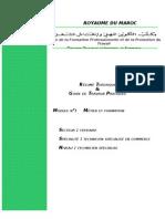 M01 - métier et formation TER-TSC