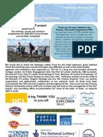 TDP Newsletter Autumn 2011