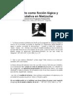 El Sujeto Como Ficción lógica y Regulativa en Nietzsche