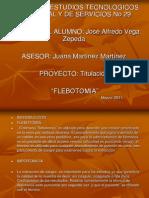 FLEBOTOMIA Trabajo Alfredo 2011 Final 1