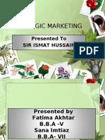 Strategic Marketing 2
