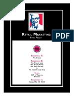 Retail Marketing- Kfc