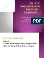 CM10321 Organizational Behavior T01(Group 2)