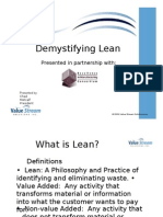 Demystifying Lean 110606
