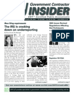 UHY Government Contractor Newsletter - September 2011