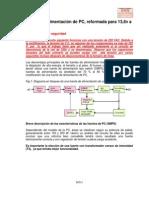 Reforma Fuente PC a 13,8V 20A