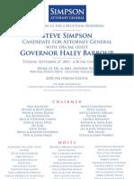 Simpson Barbour Event