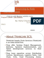 Strategic Sourcing & Risk Management