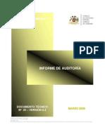 2008 - DOCUMENTO N° 25 -  INFORME DE AUDITORIA V.0.4
