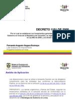 Decreto 1151 de 2008