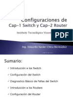 Clase 1 Confg Switch y Router