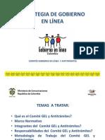 Comites Gobierno en Linea y Antitramites