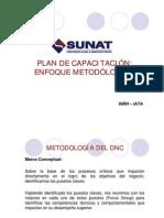 Plan de capacitación SUNAT