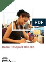 Basic Passport Checking-UK