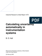 Calculatin Uncertainty