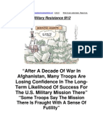 Military Resistance 9I12