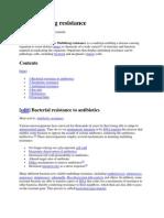 Multiple Drug Resistance