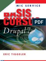 Inkijkexemplaar Basiscursus Drupal 7 NL Eric Tiggeler