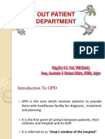 Out Patient Department (OPD)